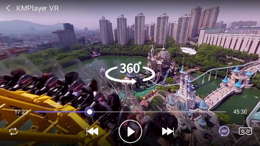 360 video players