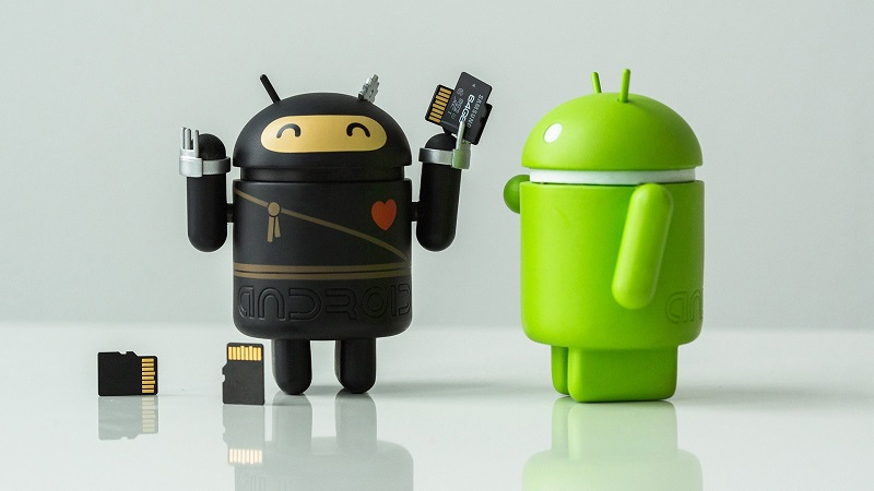 make a backup on Android