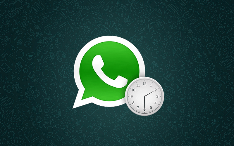 schedule messages on WhatsApp