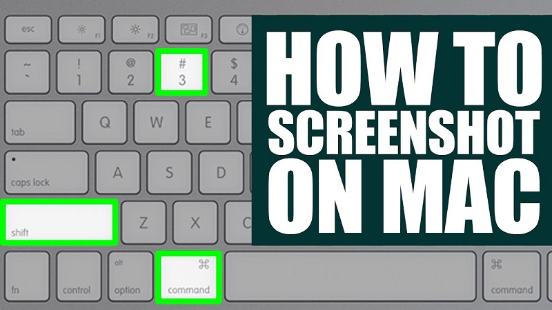 How to take screenshots in OS X