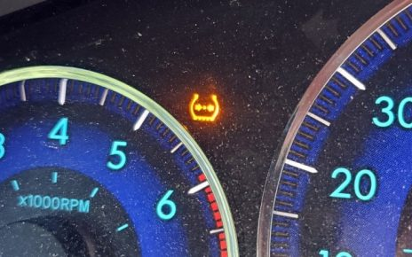 How to reset tire pressure light